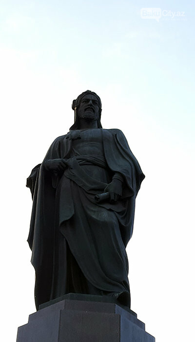 Nizami Gəncəvinin heykəli: yubiley abidəsi, müharibədən əvvəlki layihə - FOTO, fotoşəkil-3
