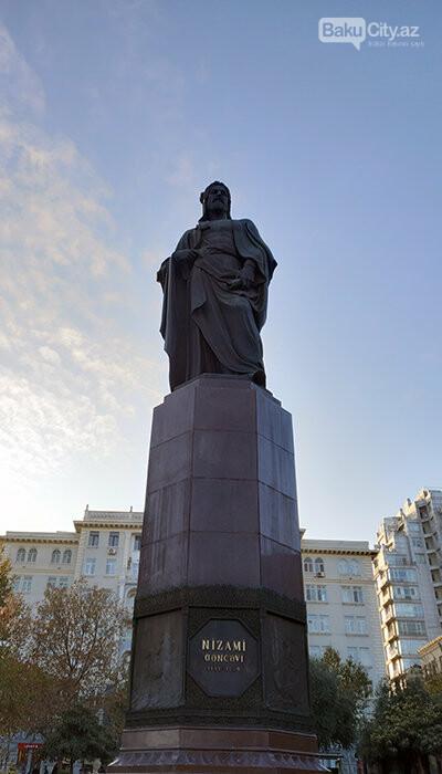 Nizami Gəncəvinin heykəli: yubiley abidəsi, müharibədən əvvəlki layihə - FOTO, fotoşəkil-4