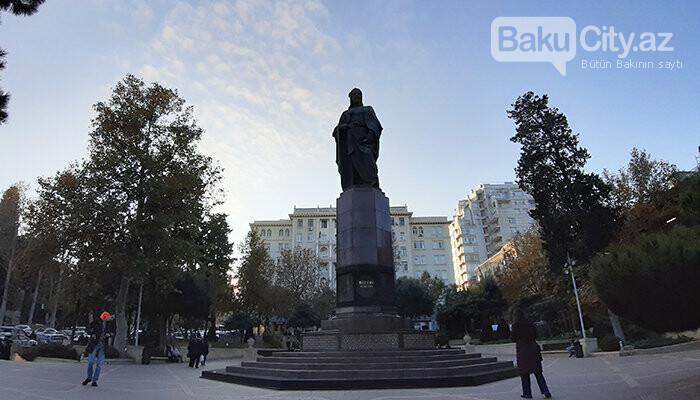 Nizami Gəncəvinin heykəli: yubiley abidəsi, müharibədən əvvəlki layihə - FOTO, fotoşəkil-5