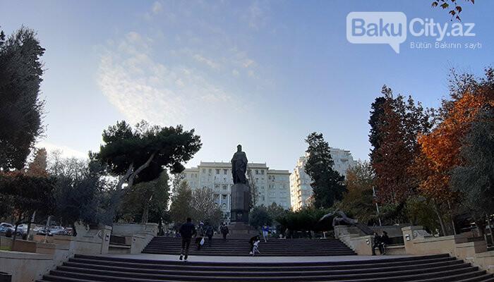 Nizami Gəncəvinin heykəli: yubiley abidəsi, müharibədən əvvəlki layihə - FOTO, fotoşəkil-2