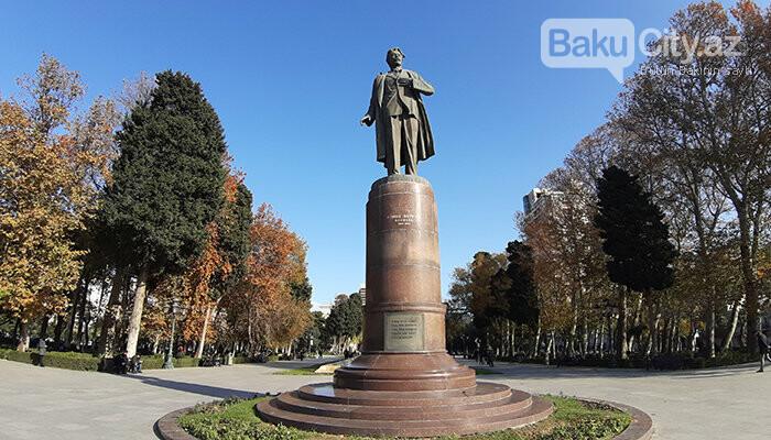 Səməd Vurğun parkı: Keçmiş zoopark, proletariat rəhbəri, Ukrayna qraniti - FOTO, fotoşəkil-8