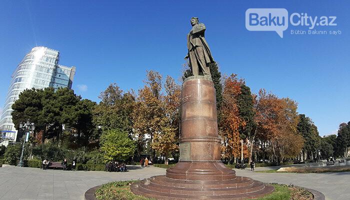 Səməd Vurğun parkı: Keçmiş zoopark, proletariat rəhbəri, Ukrayna qraniti - FOTO, fotoşəkil-11