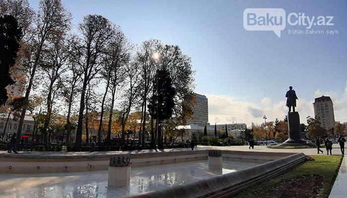 Səməd Vurğun parkı: Keçmiş zoopark, proletariat rəhbəri, Ukrayna qraniti - FOTO, fotoşəkil-10