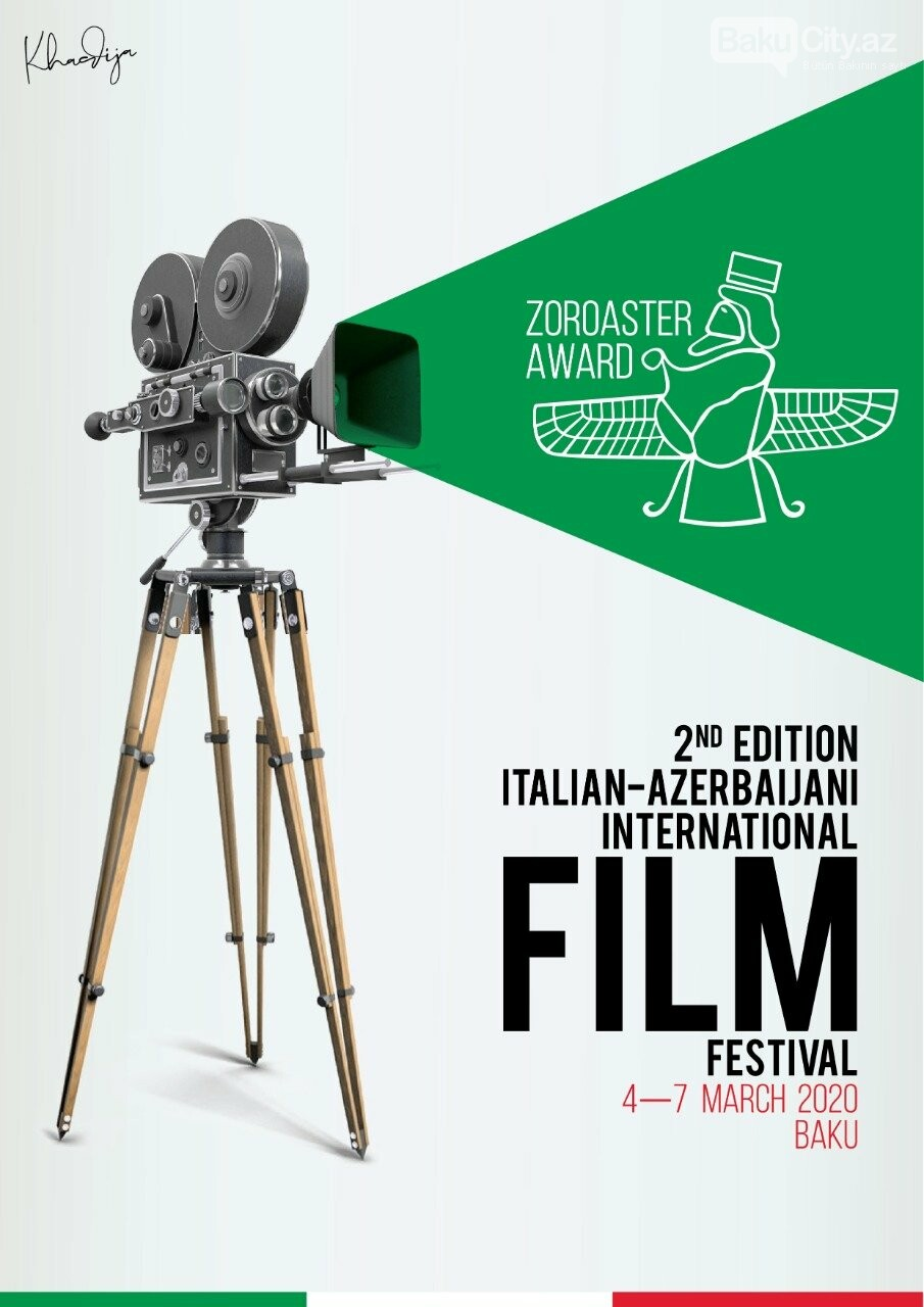 Bakıda İtaliya-Azərbaycan Beynəlxalq Film Festivalı keçiriləcək, fotoşəkil-1