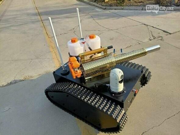Koronavirusla mübarizə üçün robot yaradıldı - FOTO, fotoşəkil-2