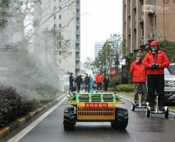 Koronavirusla mübarizə üçün robot yaradıldı - FOTO, fotoşəkil-3