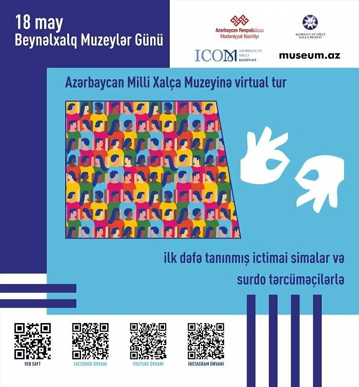 """Xalça Muzeyi """"Beynəlxalq Muzeylər Gününü""""nu onlayn formatda qeyd edəcək , fotoşəkil-1"""