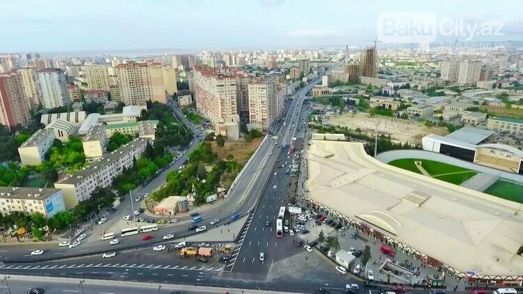 """""""20 Yanvar"""" dairəsi ətrafında yenidənqurma işləri yekunlaşdı, fotoşəkil-3"""