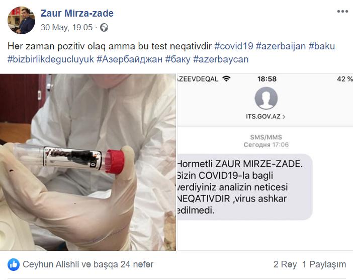 Bakıda Jurnalistin ailəsində koronavirus aşkarlandı - FOTO, fotoşəkil-1
