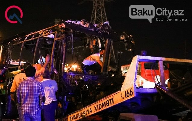 Aeroport yolunda avtobus partladı - FOTO / VİDEO, fotoşəkil-3