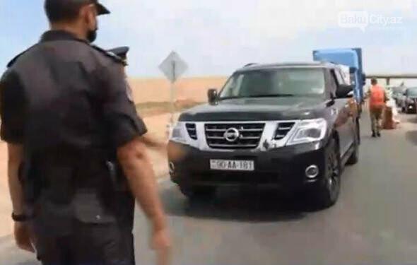 Bakıdan çıxmaq istəyən AA seriyalı avtomobil geri qaytarıldı - FOTO/VİDEO, fotoşəkil-3