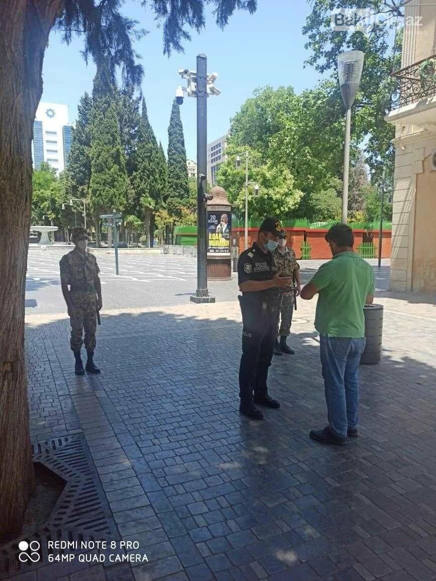 Bakı polisi reyd keçirir - FOTO, fotoşəkil-8