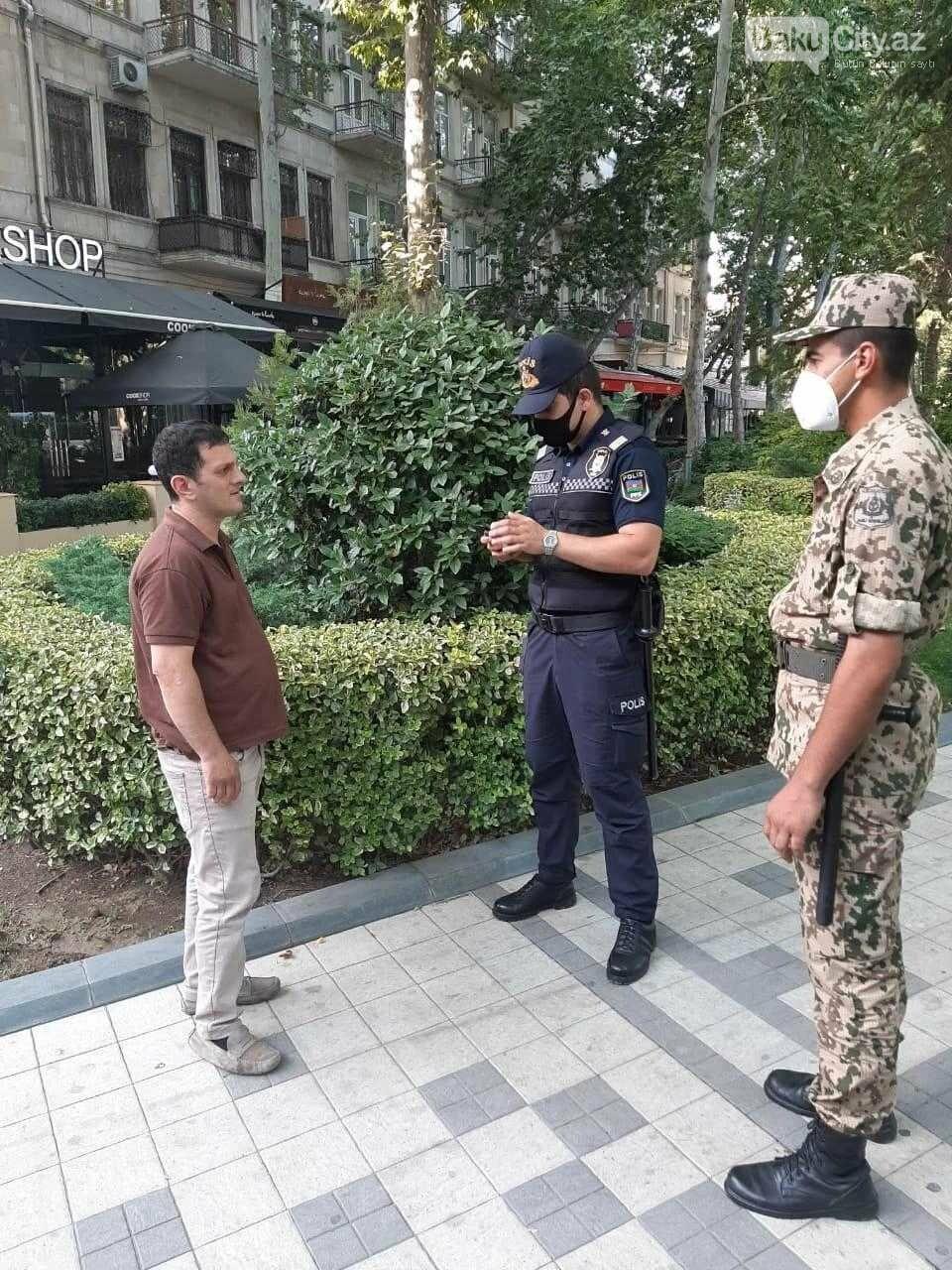 Bakı polisi reyd keçirir - FOTO, fotoşəkil-6