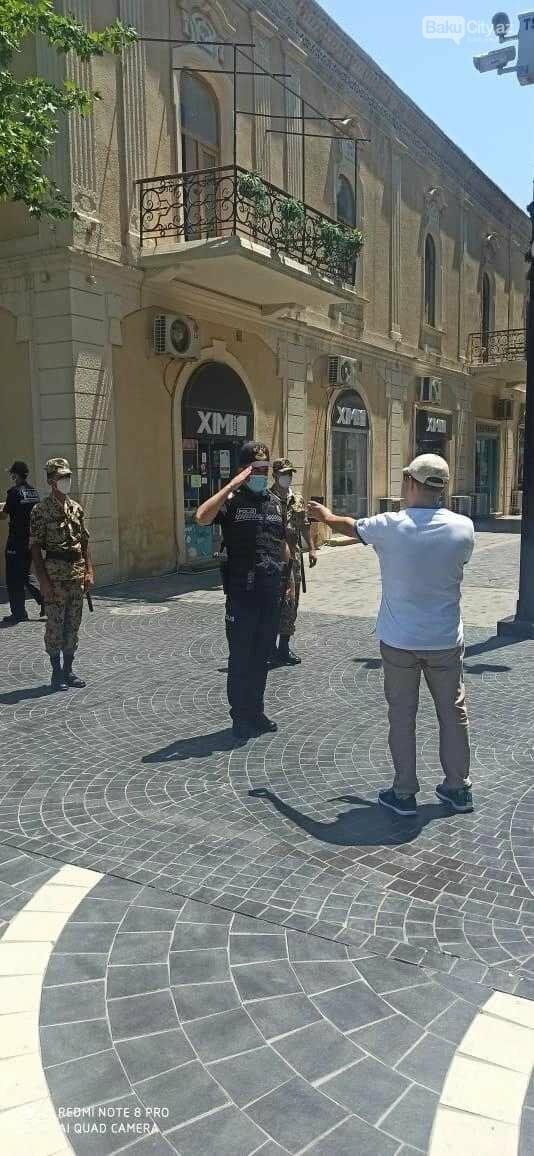 Bakı polisi reyd keçirir - FOTO, fotoşəkil-5