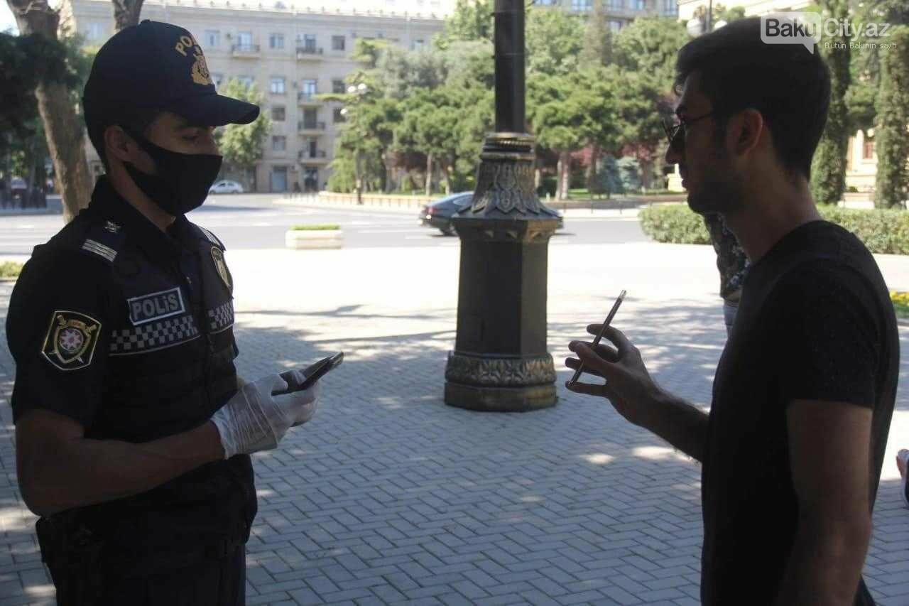 Bakı polisi reyd keçirir - FOTO, fotoşəkil-2