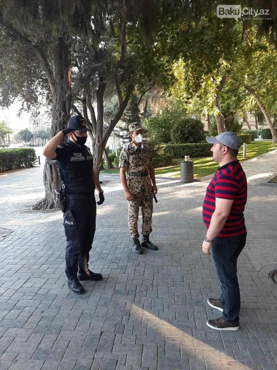 Bakı polisi reyd keçirir - FOTO, fotoşəkil-1