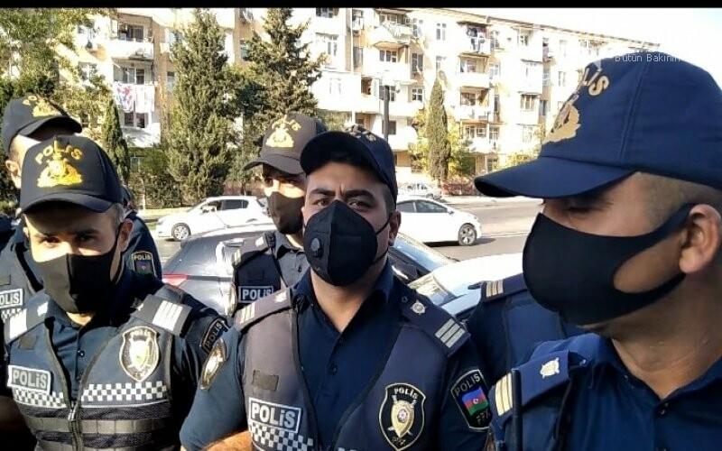 Bakıda keçirilən aksiyada polis jurnalistə ciddi ziyan vurub - FOTO, fotoşəkil-4