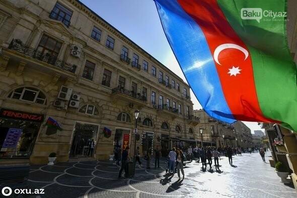 Xalqımız qələbə sevinci ilə Bakı küçələrində - FOTOREPORTAJ, fotoşəkil-6