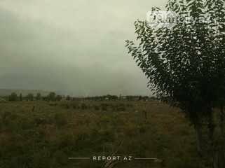 Füzuli rayonu ərazisinə mərmi düşdü: yanğın baş verdi, fotoşəkil-1