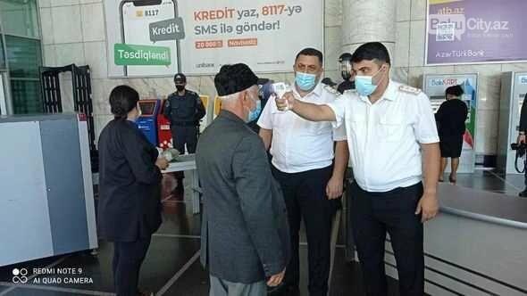 Bakı metrosunda yeni yoxlama qurğuları quraşdırılıb - FOTO, fotoşəkil-1