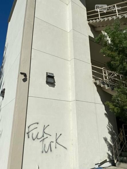 Ermənilərin Kaliforniyada azərbaycanlılara qarşı vandalizmi - FOTO, fotoşəkil-5
