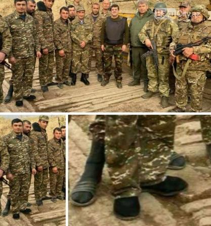 Ermənistan ordusunda növbəti biabırçılıq - VİDEO, fotoşəkil-1