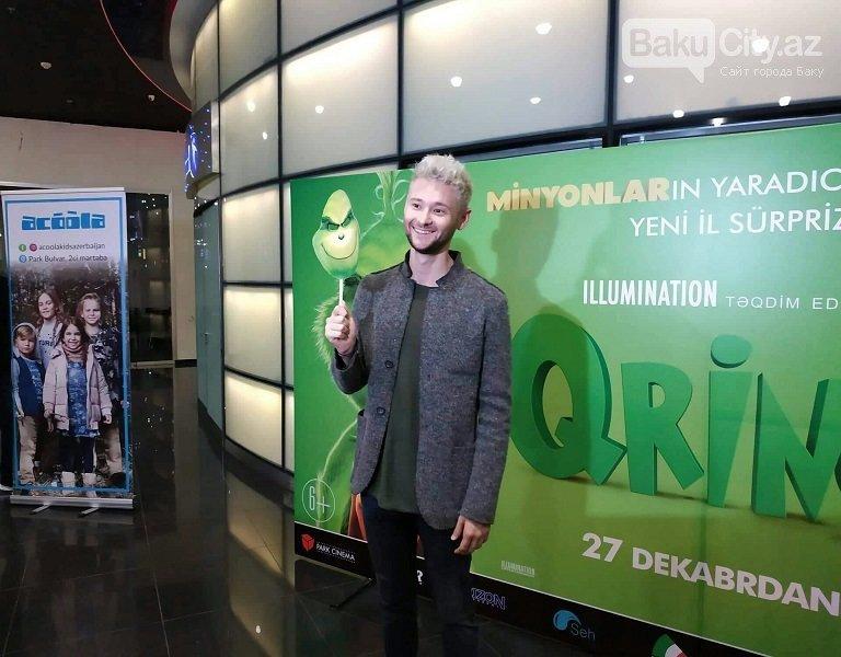 """Park Cinema 2018-ci ili """"Qrinç""""lə yola salır - FOTO, fotoşəkil-5"""