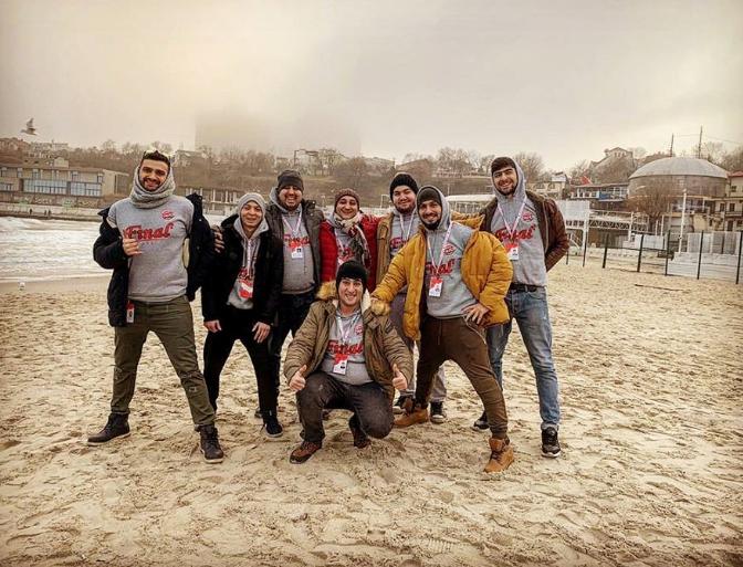 Bakının yumor komandası beynəlxalq müsabiqədə iştirak edib - FOTO, fotoşəkil-4