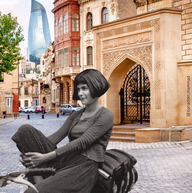 """Hollivud ulduzları """"Bakı küçələrində"""" - FOTO, fotoşəkil-11"""