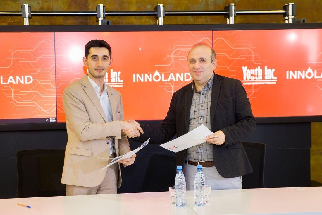 """Bakıda """"Youth Inc."""" və """"INNOLAND"""" arasında memorandum imzalandı - FOTO, fotoşəkil-2"""