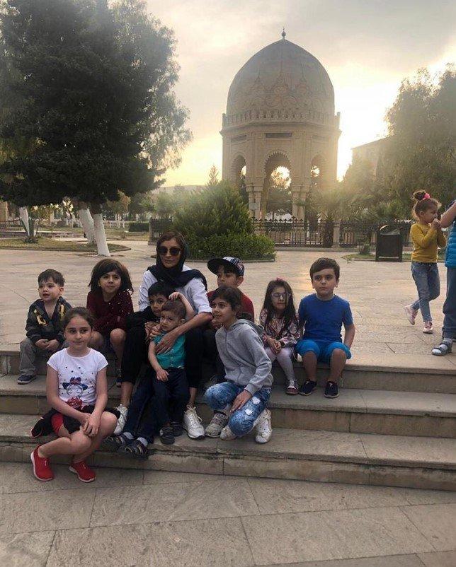 Mehriban Əliyeva qızı ilə ziyarətgaha gedib - FOTO, fotoşəkil-2