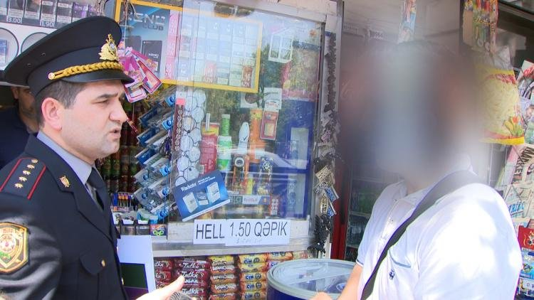 Bakıda azyaşlılara siqaret satanlar cərimələndi - FOTO , fotoşəkil-2