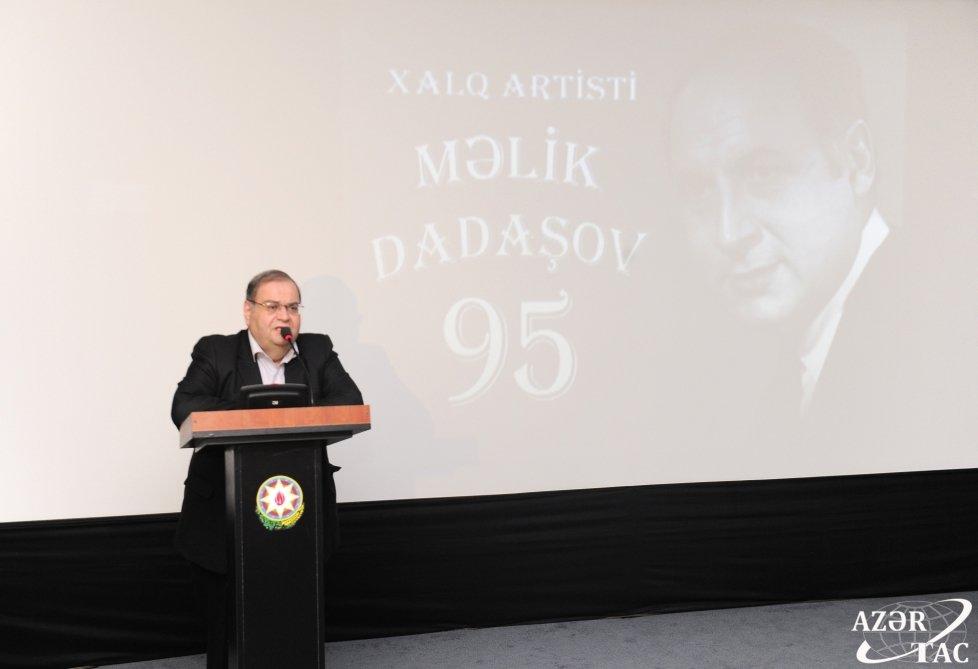 Bakıda xalq artisti Məlik Dadaşovun xatirəsi yad edilib, fotoşəkil-1