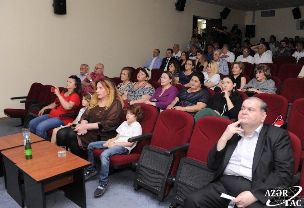 Bakıda xalq artisti Məlik Dadaşovun xatirəsi yad edilib, fotoşəkil-4