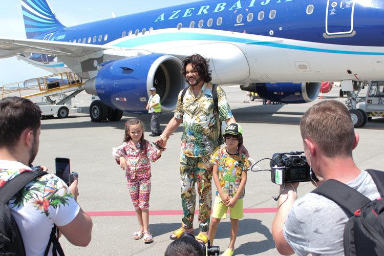Filip Kirkorov uşaqları ilə Bakıya gəldi – FOTO, fotoşəkil-3