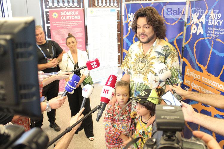 Filip Kirkorov uşaqları ilə Bakıya gəldi – FOTO, fotoşəkil-8