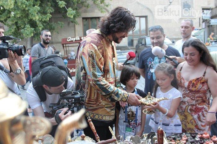 Flipp Kirkorov uşaqları ilə birlikdə İçərişəhəri gəzdi – FOTO, fotoşəkil-4