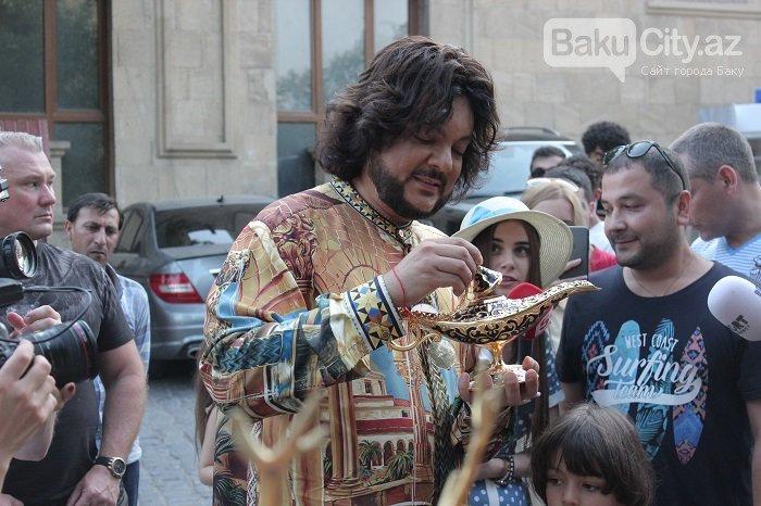 Flipp Kirkorov uşaqları ilə birlikdə İçərişəhəri gəzdi – FOTO, fotoşəkil-5