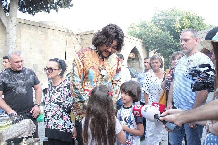 Flipp Kirkorov uşaqları ilə birlikdə İçərişəhəri gəzdi – FOTO, fotoşəkil-9