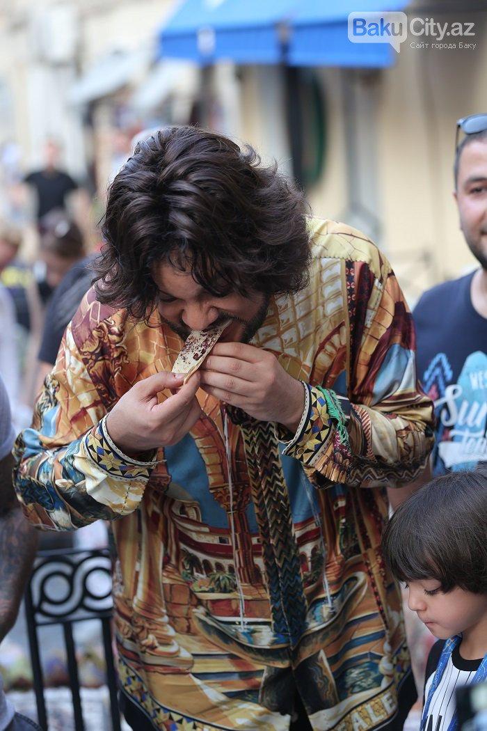 Flipp Kirkorov uşaqları ilə birlikdə İçərişəhəri gəzdi – FOTO, fotoşəkil-31