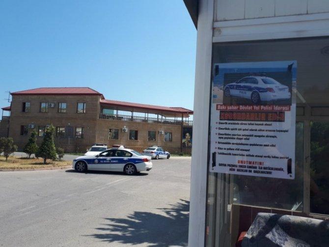 Bakıda yol polisi sürücülərə xəbərdarlıq etdi - FOTO, fotoşəkil-1