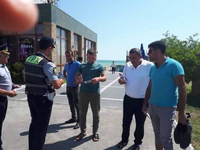 Bakıda yol polisi sürücülərə xəbərdarlıq etdi - FOTO, fotoşəkil-2