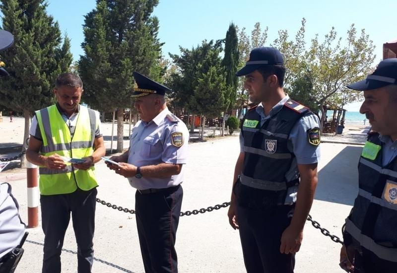Bakıda yol polisi sürücülərə xəbərdarlıq etdi - FOTO, fotoşəkil-4