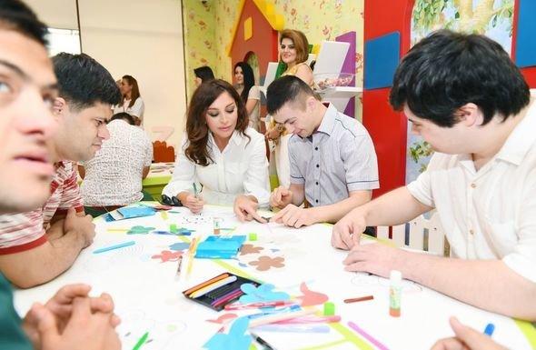 Mehriban Əliyeva uşaq bağçalarının açılışlarında iştirak edib - FOTO, fotoşəkil-5