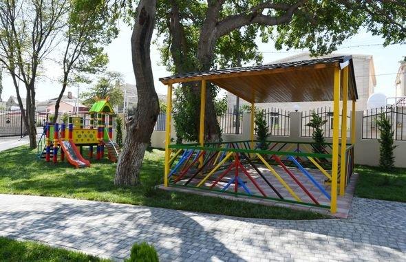 Mehriban Əliyeva uşaq bağçalarının açılışlarında iştirak edib - FOTO, fotoşəkil-9