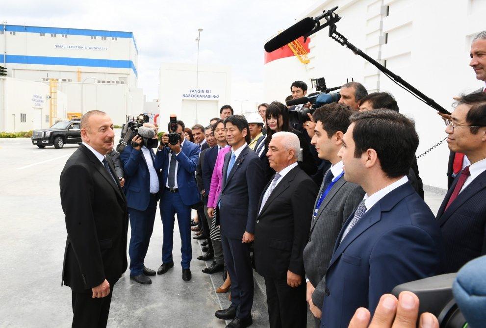 İlham Əliyev Bakıda açılış etdi - FOTO, fotoşəkil-12