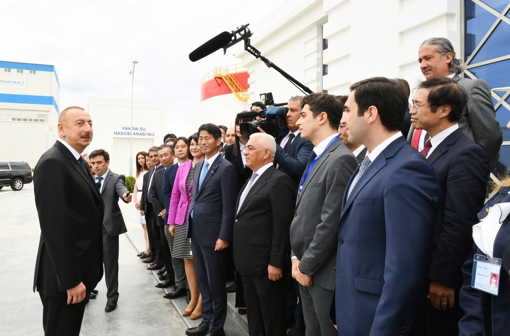 İlham Əliyev Bakıda açılış etdi - FOTO, fotoşəkil-13