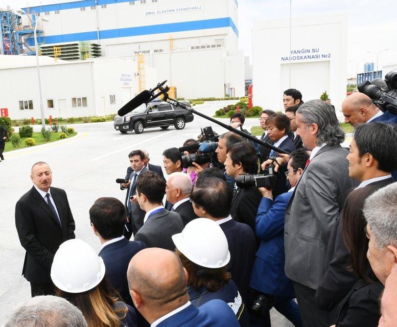 İlham Əliyev Bakıda açılış etdi - FOTO, fotoşəkil-14