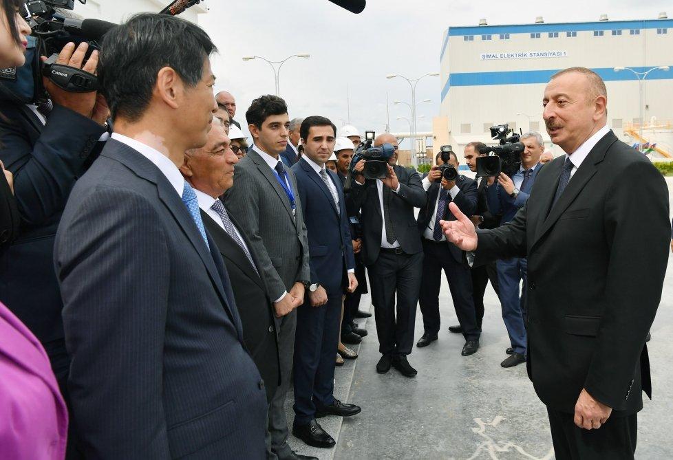 İlham Əliyev Bakıda açılış etdi - FOTO, fotoşəkil-16