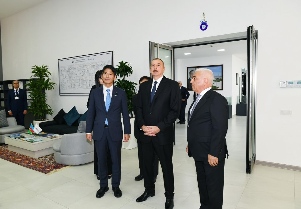 İlham Əliyev Bakıda açılış etdi - FOTO, fotoşəkil-3